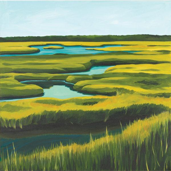 Catherine Breer Spurwink Marsh Art Print