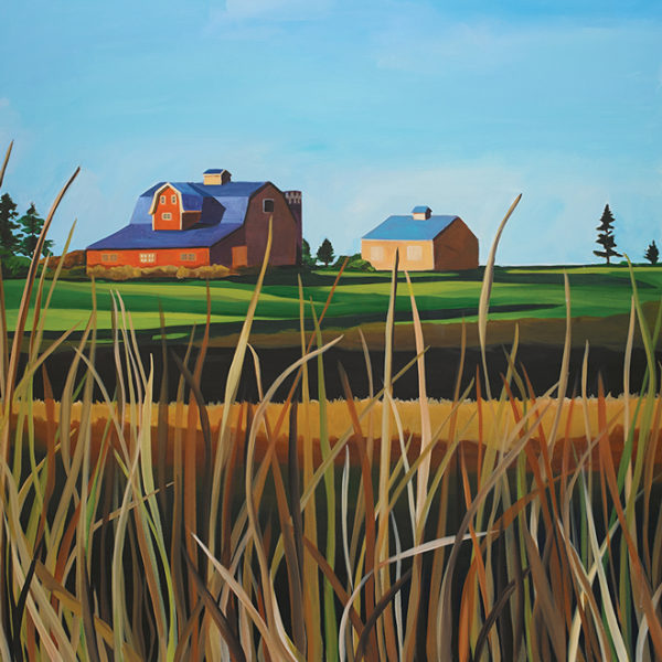 Catherine Breer Barn on Stony Lake Art Print