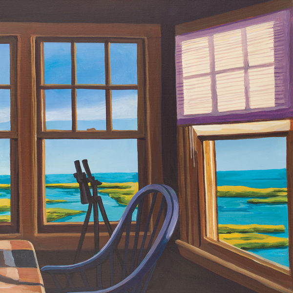 Catherine Breer Chatham Window Art Print - Square