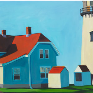 Catherine Breer Chatham Lighthouse Art Print