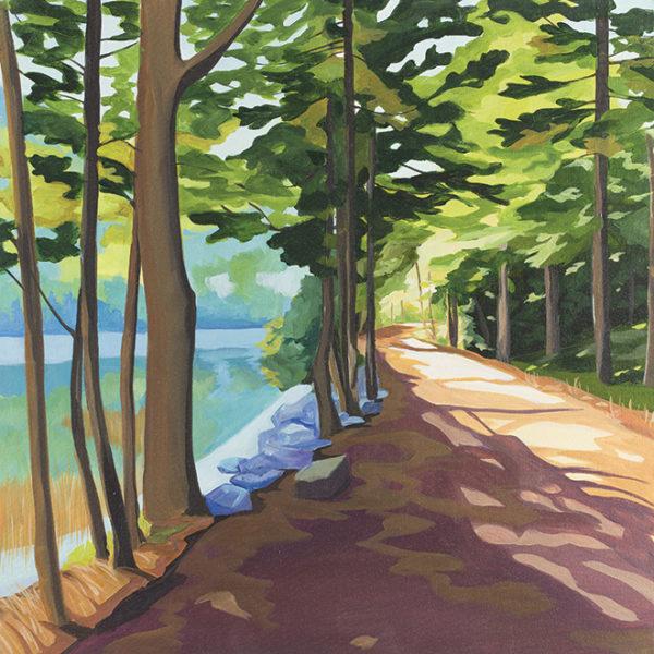 Catherine Breer Carriage Path Art Print