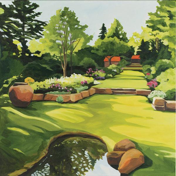 Catherine Breer Thuya Garden Art Print