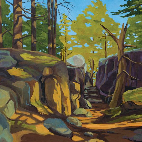 Catherine Breer Anvil Trail Art Print