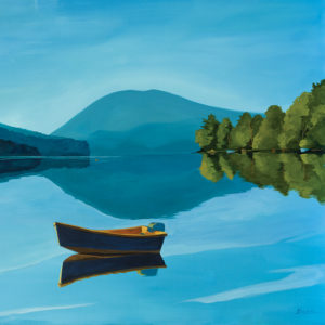 Catherine Breer Great Long Pond Art Print