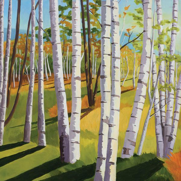 Catherine Breer Jesup Path Art Print