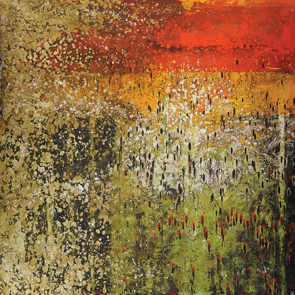 Annie Darling Field Of Followers Art Print