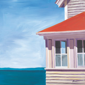 Catherine Breer Lightkeeper's House Art Print