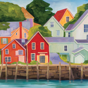 Catherine Breer North Haven Art Print