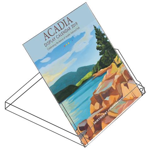 Catherine Breer 2019 Acadia Display Calendar