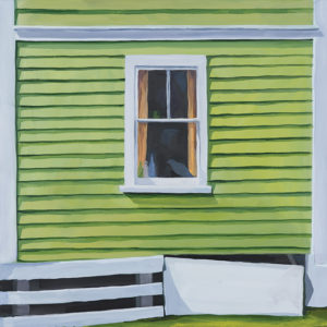 Catherine Breer Green Window Art Print