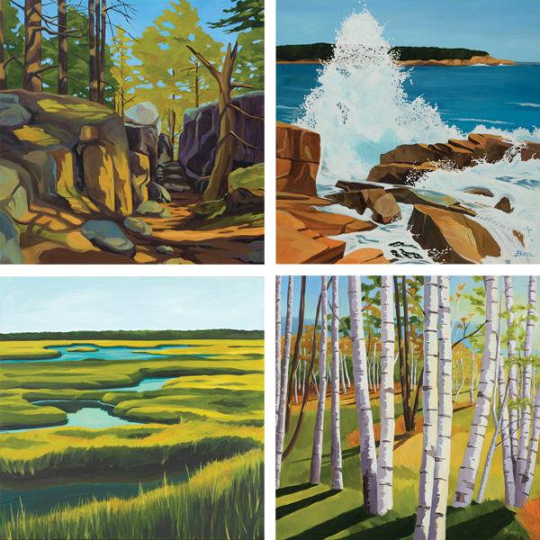 Catherine Breer Nature Enthusiasts Art Print Set