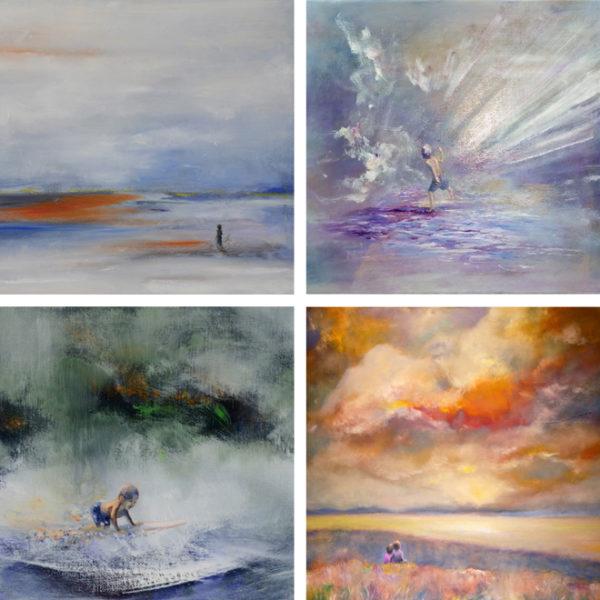 myIntrospection.Stephen Inspirational Landscape Art Print Set