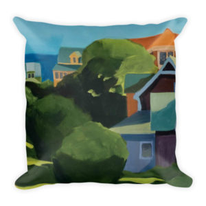 down-the-hill decorative pillow