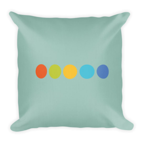 Origin Decorative Pillow Back Side