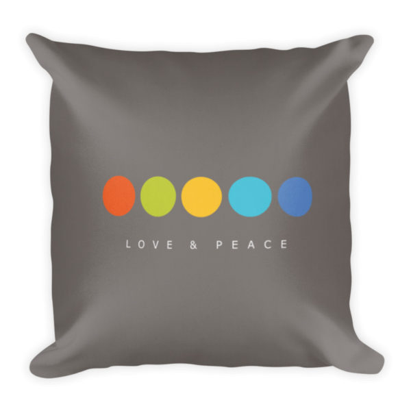 Love Pillow Back Side