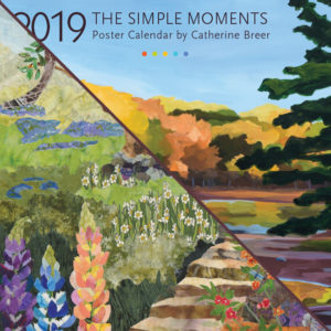 2019 Calendar Bundle Simple Moments & Collage of Musings