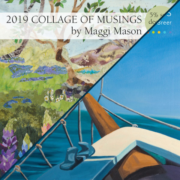 2019 Calendar Bundle Love of Boats & Collage of Musings