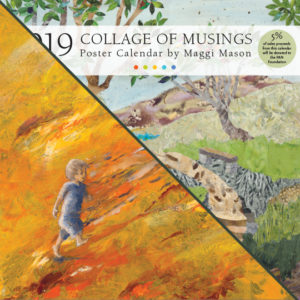 2019 Calendar Bundle Collage of Musings & Painted Stories