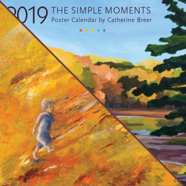 2019 Calendar Bundle Simple Moments & Painted Stories