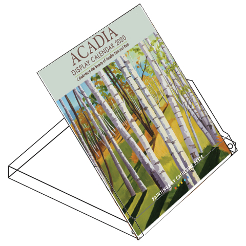 2020 Catherine Breer Acadia Display Calendar