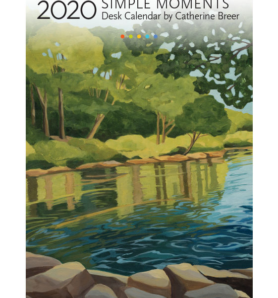 2020 Catherine Breer Simple Moments Desk Calendar