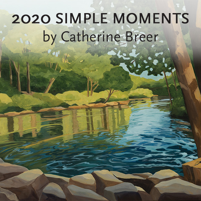 2020 Catherine Breer Simple Moments Calendar