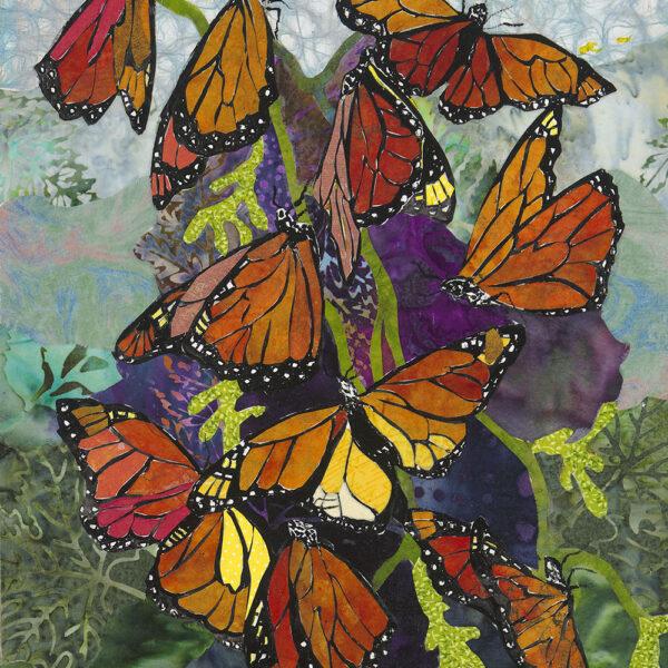 Colors of Monarch Art Print