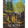 2021 Catherine Breer Acadia Desk Calendar Cover