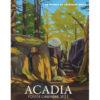 2021 Catherine Breer Acadia Poster Calendar Cover