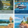 2021 Catherine Breer Acadia Calendar Detail 1