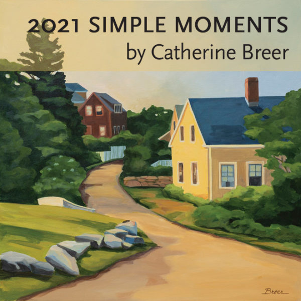 2021 Catherine Breer Simple Moments Art Calendar