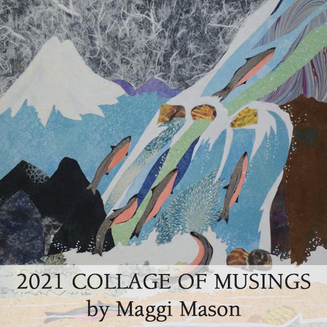 2021 Maggi Mason Collage Calendar