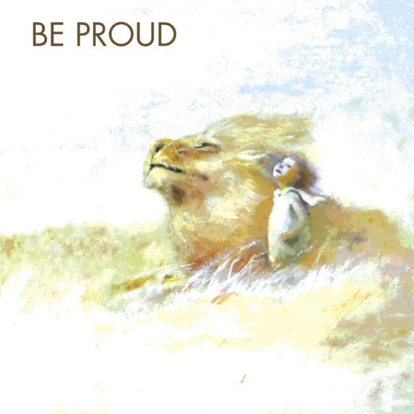 Be Proud Motivational Tile Trivet