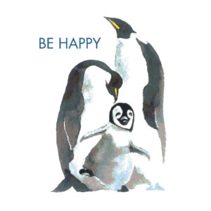 Be Happy Mini Motto Tile Trivet
