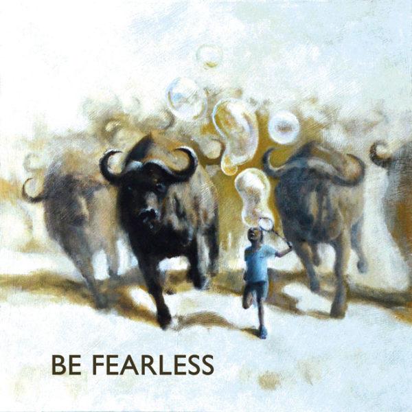 buffalo BE FEARLESS tile trivet