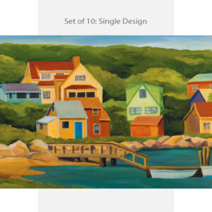Lobster Cove Note Card