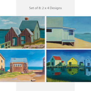 Romance the Sea Shack Cards