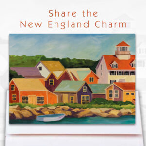 New England Charm Cards