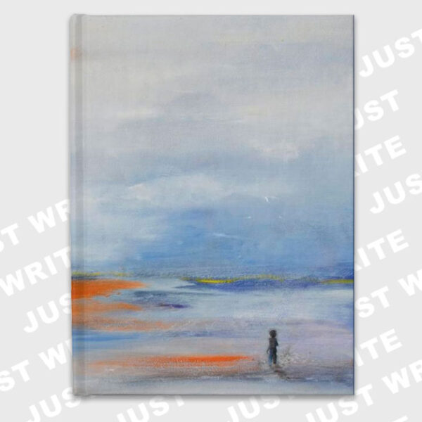 young-man-and-sea hardcover journal