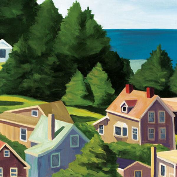 Breer View Art Print