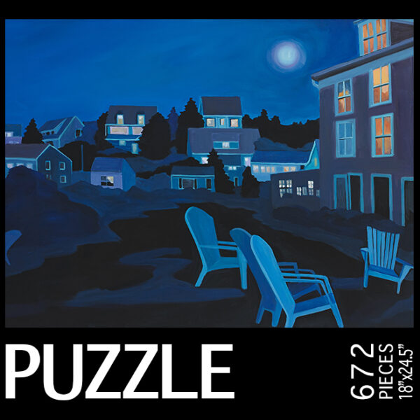 Colors of Moonlight Jigsaw Puzzle