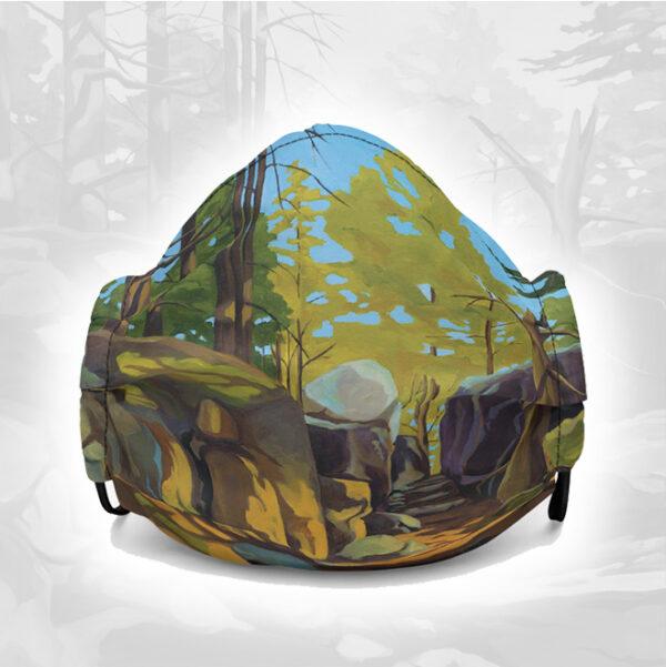 Trail Art Face Mask